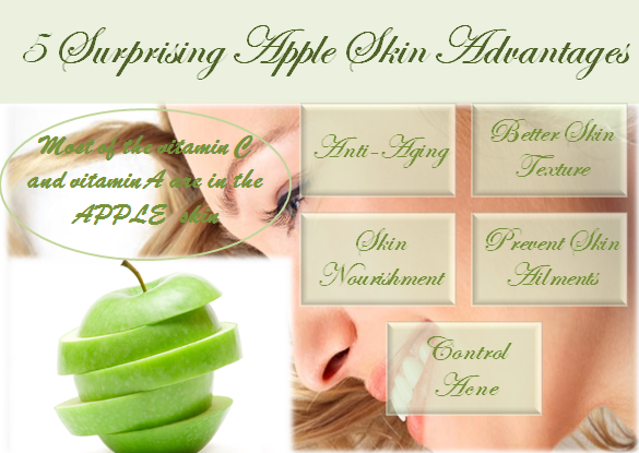 5 Surprising Apples Skin Advantages