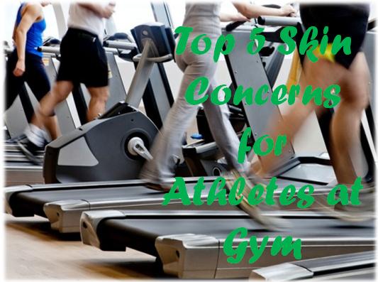 Skin Concerns for Athletes at Gym