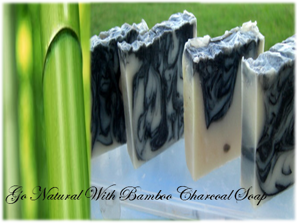 Go Natural With Bamboo Charcoal Soap